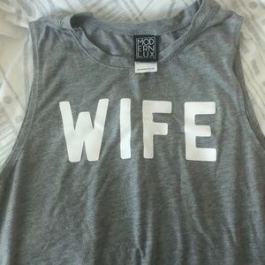Cute Wife tank top